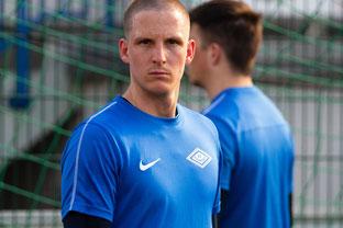 Rippe angebrochen und gesperrt. Sebastian Wickl hatte sich seinen persönlichen Oberliga-Start anders vorgestellt (Foto: Deutzmann)