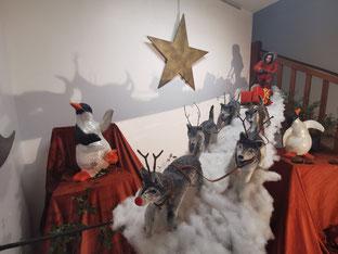 Théâtre du Versant - Biarritz - voeux - bonnes fêtes - Noël - Père Noël