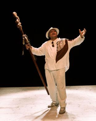 théâtre du Versant - Biarritz - Comédien - Tahiti - Guerrier - Maori