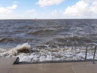 Norddeich Strand, Nordsee, Ostfriesland, Norden