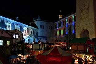 Mittelalterliche Adventsmarkt im Stallhof