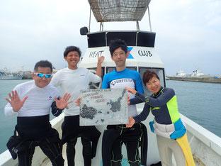 石垣島でのんびりダイビング「台風10号の影響」ヒートハートクラブ