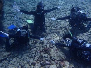 石垣島でのんびりダイビング「男7人衆」ヒートハートクラブ