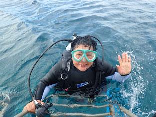 石垣島でのんびり体験ダイビング「リベンジダイブ」ヒートハートクラブ