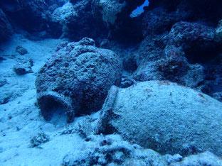 石垣島でのんびりダイビング「屋良部沖海底遺跡」ヒートハートクラブ