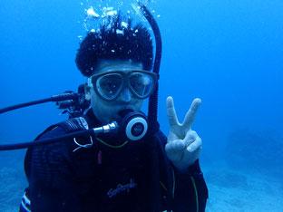 石垣島でのんびりダイビング「昔取った杵柄」ヒートハートクラブ