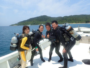 石垣島でのんびりダイビング「今年も来店」ヒートハートクラブ