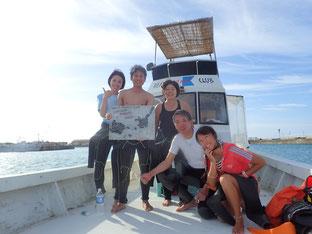 石垣島でのんびりダイビング「新婚旅行」ヒートハートクラブ