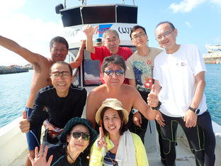 石垣島でのんびりダイビング「ダイバー仲間で」ヒートハートクラブ