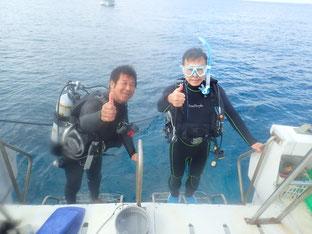 石垣島でのんびりダイビング「還暦ダイバーに挑戦!」ヒートハートクラブ