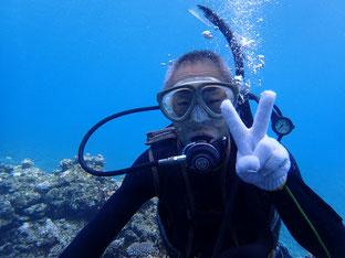石垣島でのんびりダイビング「リベンジダイブ」ヒートハートクラブ