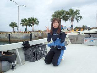 石垣島でのんびりダイビング「真冬なのに」ヒートハートクラブ