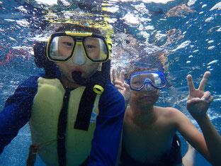 石垣島でのんびりダイビング「毎年恒例の」ヒートハートクラブ