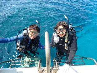 石垣島でのんびり体験ダイビング「四国から参加」ヒートハートクラブ