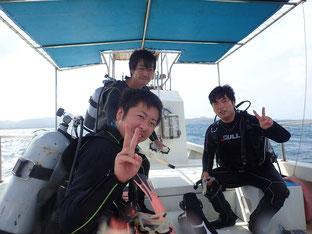 石垣島でのんびりダイビング「スーパー台風」ヒートハートクラブ