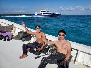石垣島でのんびりダイビング「兄弟で参加」ヒートハートクラブ