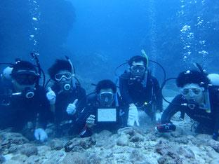 石垣島でのんびりダイビング「男組5人衆」ヒートハートクラブ