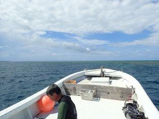 石垣島でのんびりダイビング「天気一転」ヒートハートクラブ