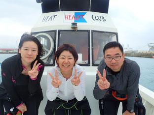 石垣島でのんびりダイビング「海神様からの贈り物」ヒートハートクラブ