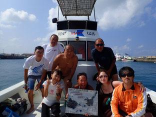 石垣島でのんびりダイビング「海水温が、、」ヒートハートクラブ