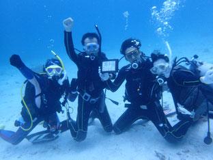 石垣島でのんびりダイビング「チームワーク」ヒートハートクラブ
