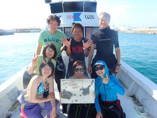 石垣島でのんびりダイビング「ポイントM]ヒートハートクラブ