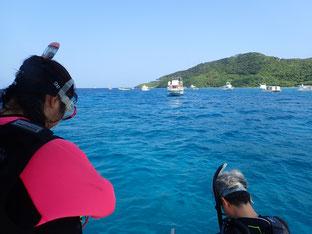 石垣島でのんびりダイビング「リクエストは亀」