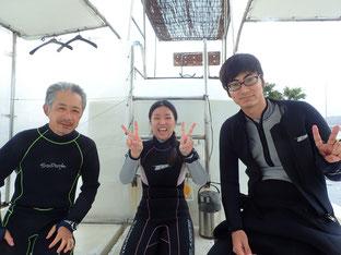 石垣島でのんびりダイビング「前線通過」ヒートハートクラブ