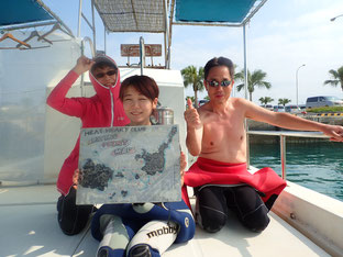 石垣島でシニアダイビング「心地よい流れ」ヒートハートクラブ