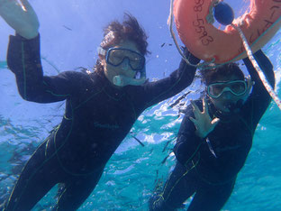石垣島でのんびりダイビング「親子でダイビング」ヒートハートクラブ