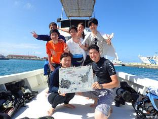 石垣島でのんびりダイビング「飛び込み」ヒートハートクラブ