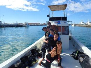石垣島でのんびり体験ダイビンング「男4人旅」ヒートハートクラブ