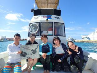 石垣島でのんびりダイビング「ブランクダイビング」ヒートハートクラブ