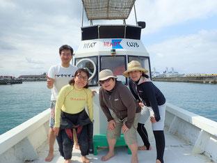 石垣島で初心者ダイビング「竜宮城へ」ヒートハートクラブ