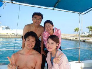 石垣島でのんびりダイビング「魚の嵐」ヒートハートクラブ
