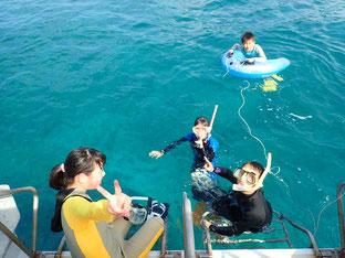 石石垣島で体験ダイビング「春休み」