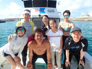 石垣島でのんびりダイビング「親子で体験ダイビング」ヒートハートクラブ