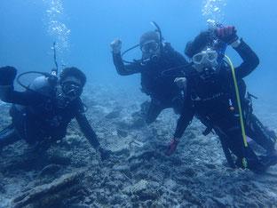 石垣島でシニアダイビング「少人数ダイブ」ヒートハートクラブ