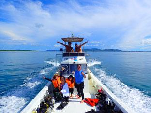 石垣島でのんびりダイビング「針路を南へ」ヒートハートクラブ