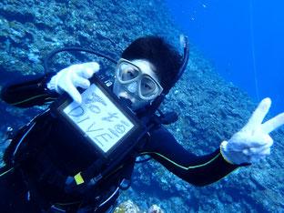 石垣島でのんびりダイビング「冬でも体験ダイビング」ヒートハートクラブ