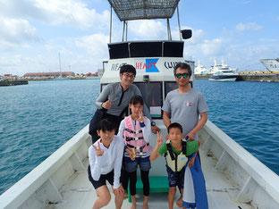石垣島で初心者ダイビング「こどもの日」ヒートハートクラブ