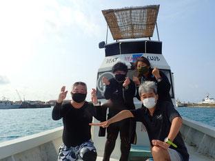 石垣島でのんびりダイビング「海開き」ヒートハートクラブ