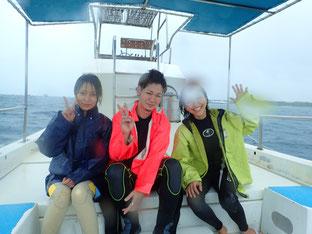 石垣島でのんびりダイビング「まだ降るかい!」ヒートハートクラブ