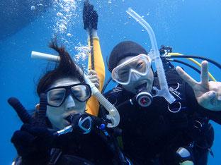 石垣島でのんびりダイビング「ファミリー体験ダイビング」ヒートハートクラブ