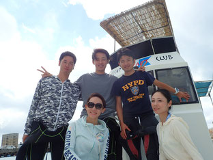 石垣島でのんびりダイビング「久々の海」ヒートハートクラブ