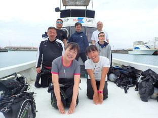 石垣島でのんびりダイビング「GW後半戦」ヒートハートクラブ