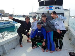 石垣島でのんびりダイビング「家族でダイビング」