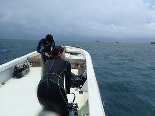 石垣島でのんびりダイビング「強い南風」ヒートハートクラブ