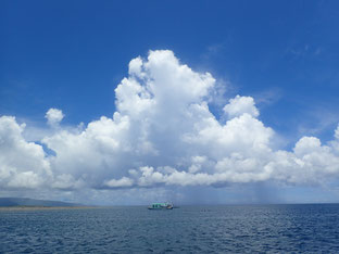 石垣島でのんびりダイビング「夏の雲」ヒートハートクラブ