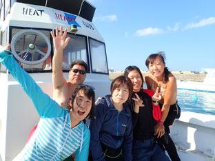 石垣島でのんびりダイビング「透明度回復」ヒートハートクラブ